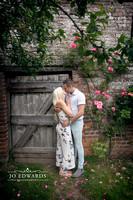 003-Delbury-Hall-Engagement-Photography-Shropshire