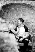 Delbury-Hall-Engagement-Photography